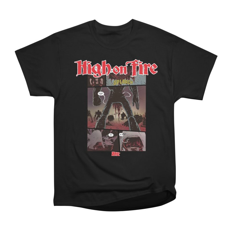 HIGH ON FIRE Heavy Metal 295 70 Men's T-Shirt by Heavy Metal Magazine