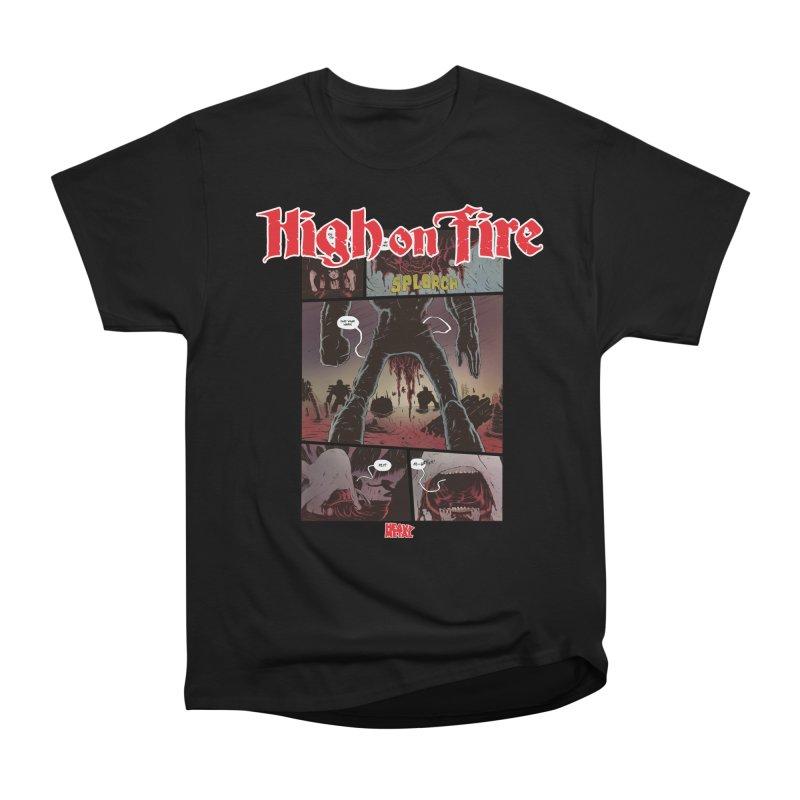 HIGH ON FIRE Heavy Metal 295 70 Women's T-Shirt by Heavy Metal Magazine