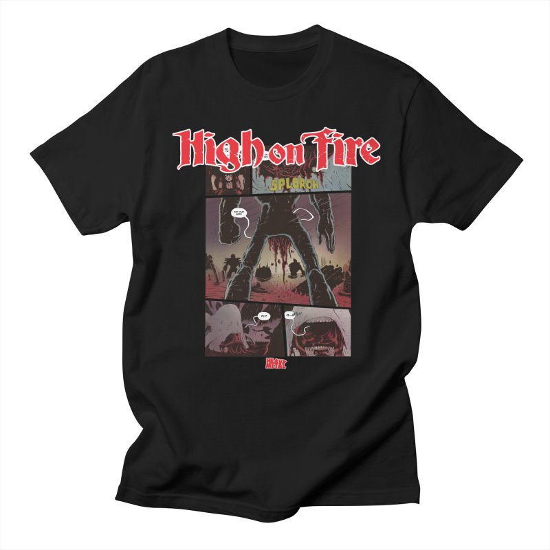 HIGH ON FIRE Heavy Metal 295 70 Men's Regular T-Shirt by Heavy Metal Magazine