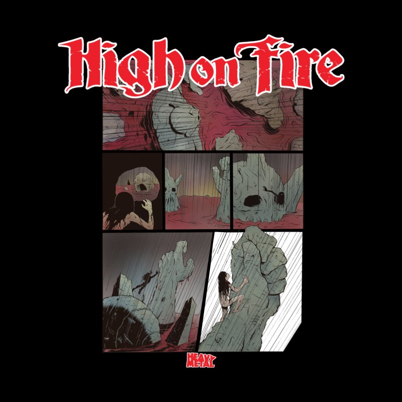 HIGH ON FIRE Heavy Metal 295 72 by Heavy Metal Magazine