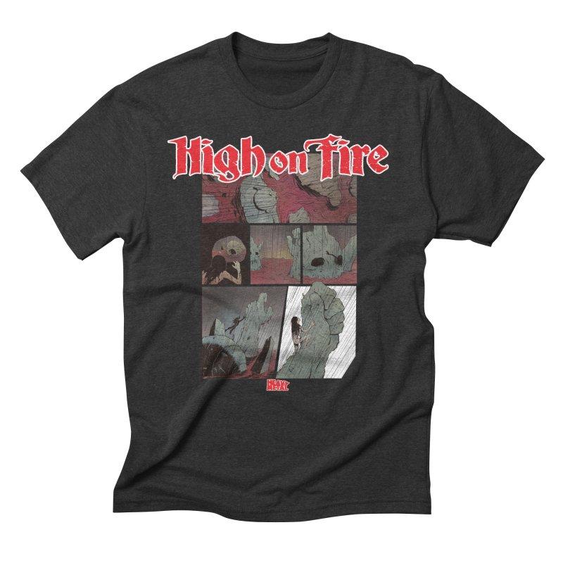 HIGH ON FIRE Heavy Metal 295 72 Men's T-Shirt by Heavy Metal Magazine