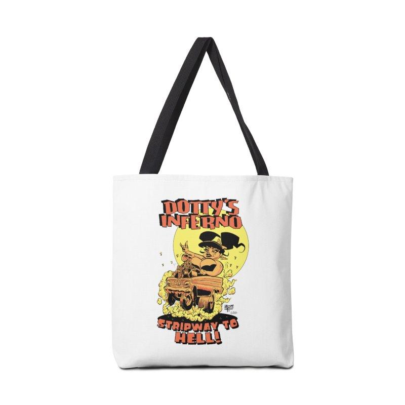 Dotty's Strip Accessories Bag by Heavy Metal Magazine