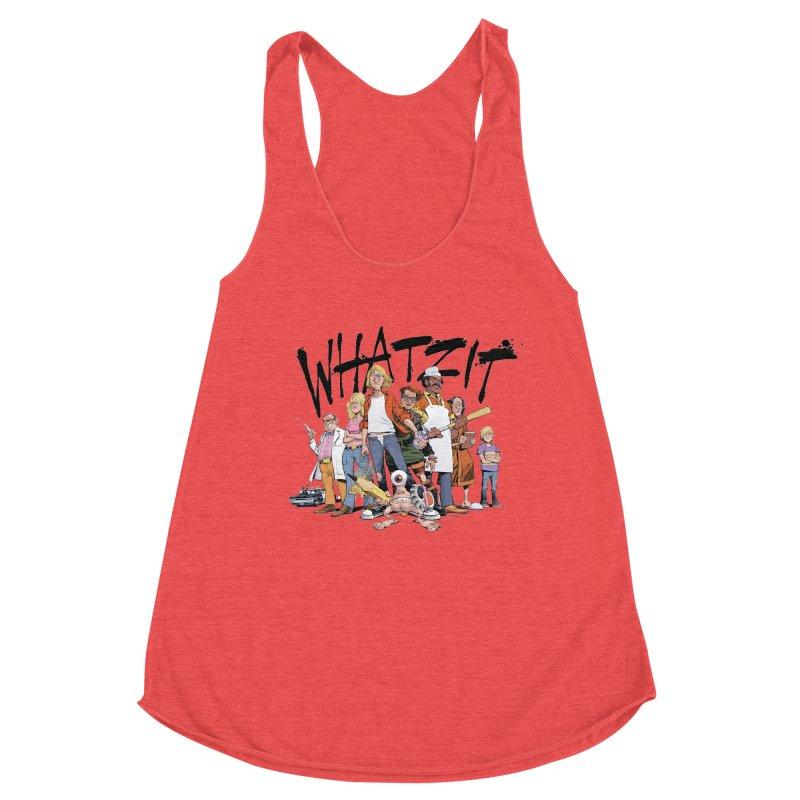WhatZit Women's Tank by Heavy Metal Magazine
