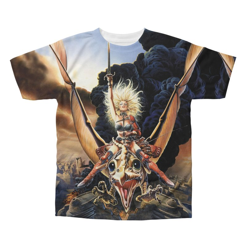 Taarna - Chris Achilleos Men's All-Over Print T-Shirt by Heavy Metal Magazine