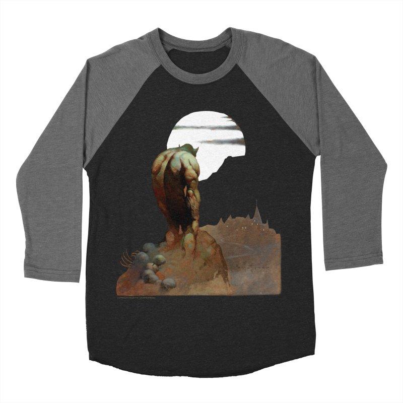 Nightstalker Men's Baseball Triblend Longsleeve T-Shirt by Heavy Metal Magazine