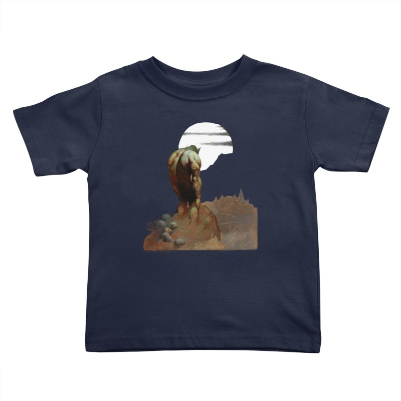 Nightstalker Kids Toddler T-Shirt by Heavy Metal Magazine