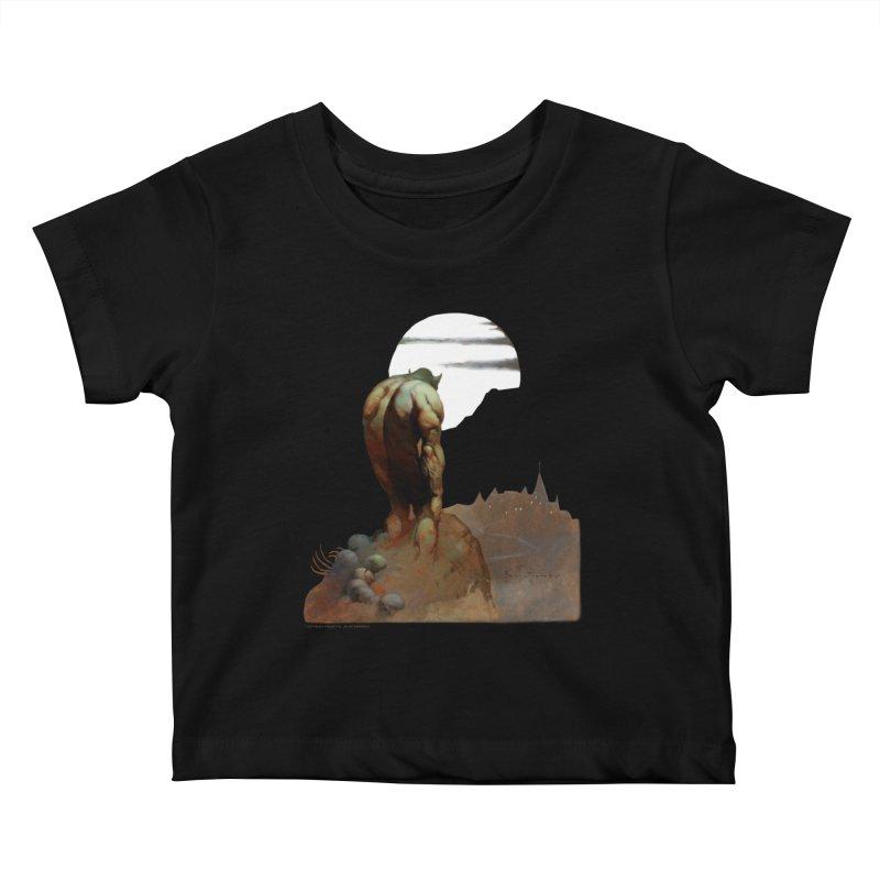 Nightstalker Kids Baby T-Shirt by Heavy Metal Magazine