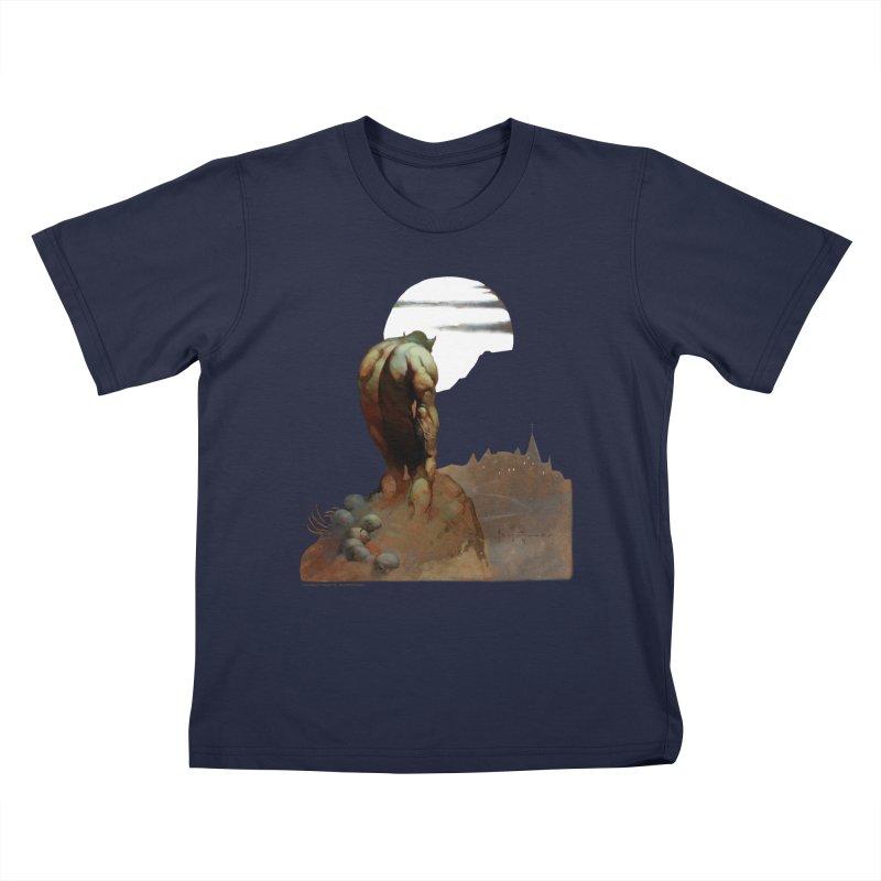 Nightstalker Kids T-Shirt by Heavy Metal Magazine
