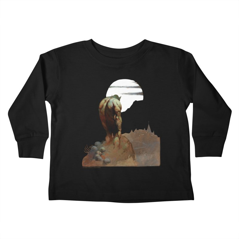 Nightstalker Kids Toddler Longsleeve T-Shirt by Heavy Metal Magazine