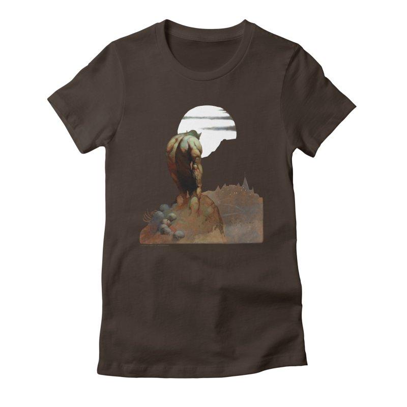 Nightstalker Women's Fitted T-Shirt by Heavy Metal Magazine