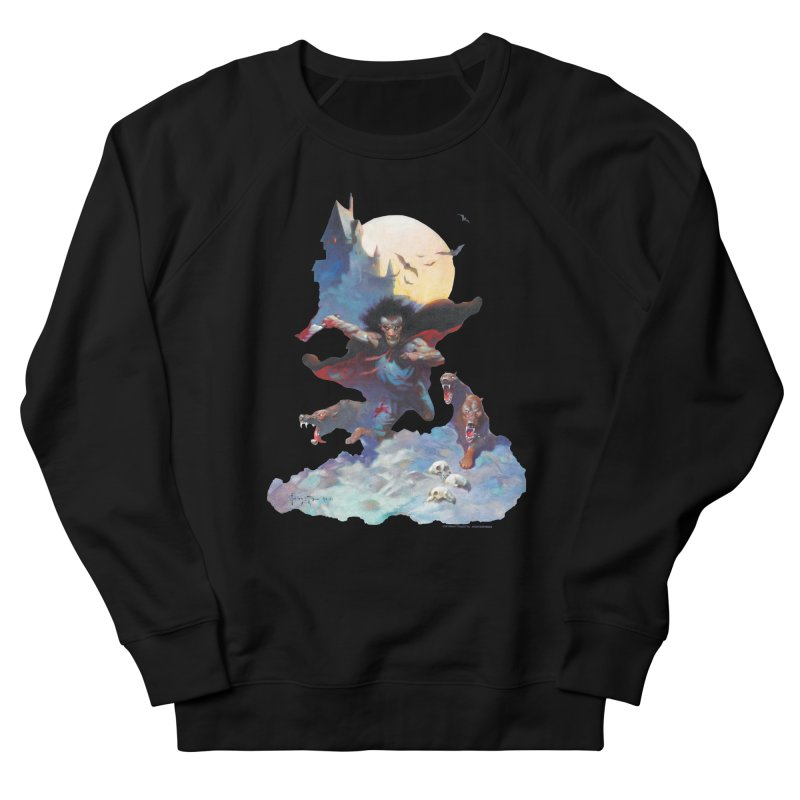 Wolves Night Women's Sweatshirt by Heavy Metal Magazine