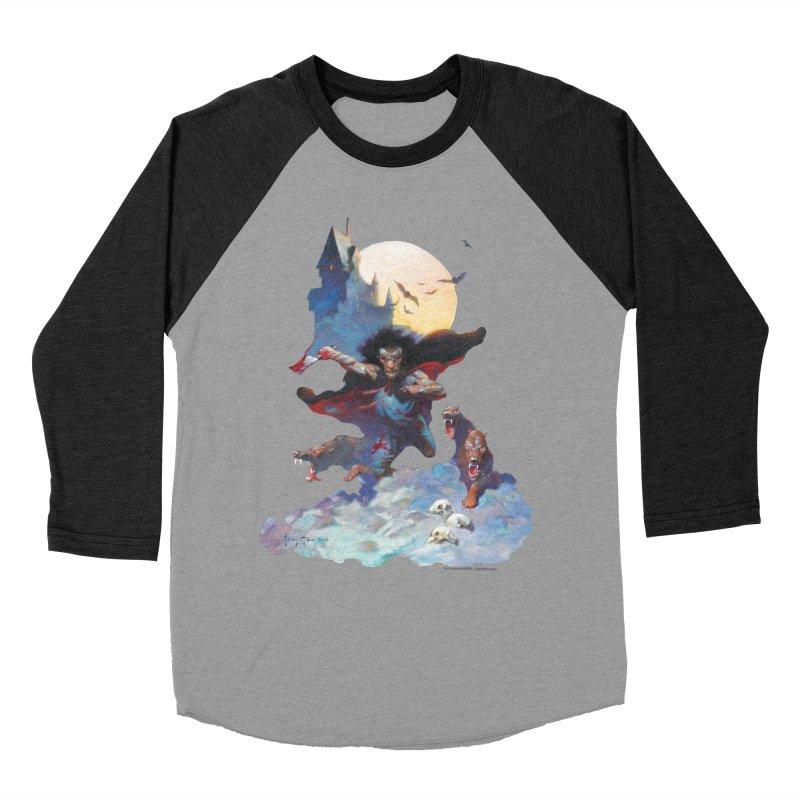 Wolves Night Men's Longsleeve T-Shirt by Heavy Metal Magazine