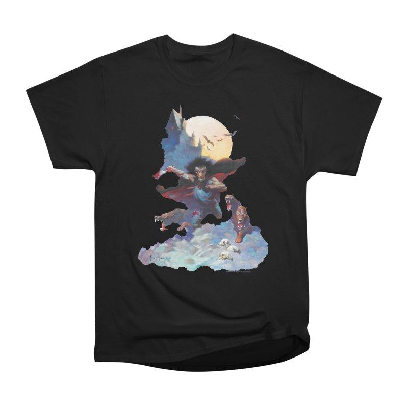 Wolves Night Men's Heavyweight T-Shirt by Heavy Metal Magazine