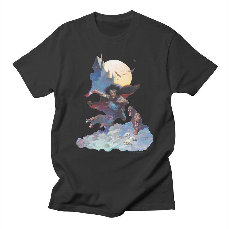 Wolves Night Women's Regular Unisex T-Shirt by Heavy Metal Magazine
