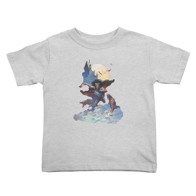 Wolves Night Kids Toddler T-Shirt by Heavy Metal Magazine