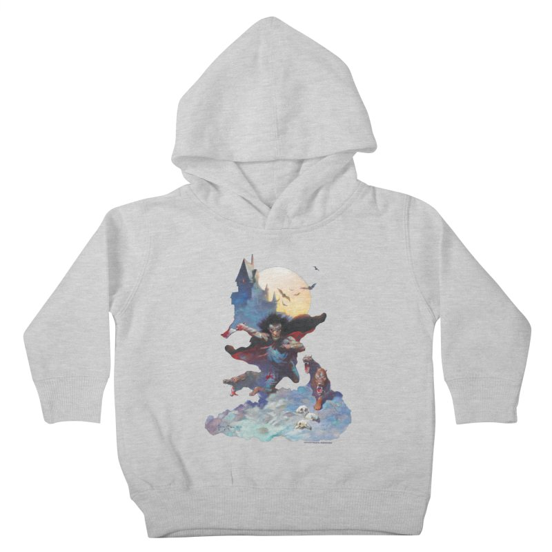 Wolves Night Kids Toddler Pullover Hoody by Heavy Metal Magazine