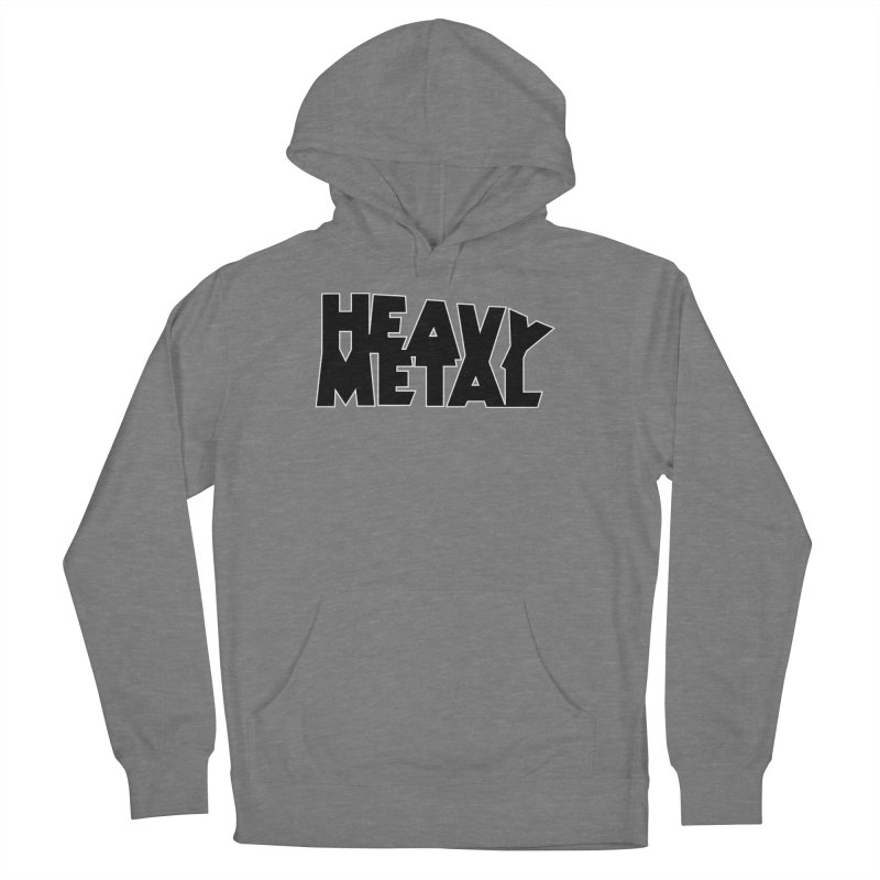 Heavy Metal Men's French Terry Pullover Hoody by Heavy Metal Magazine