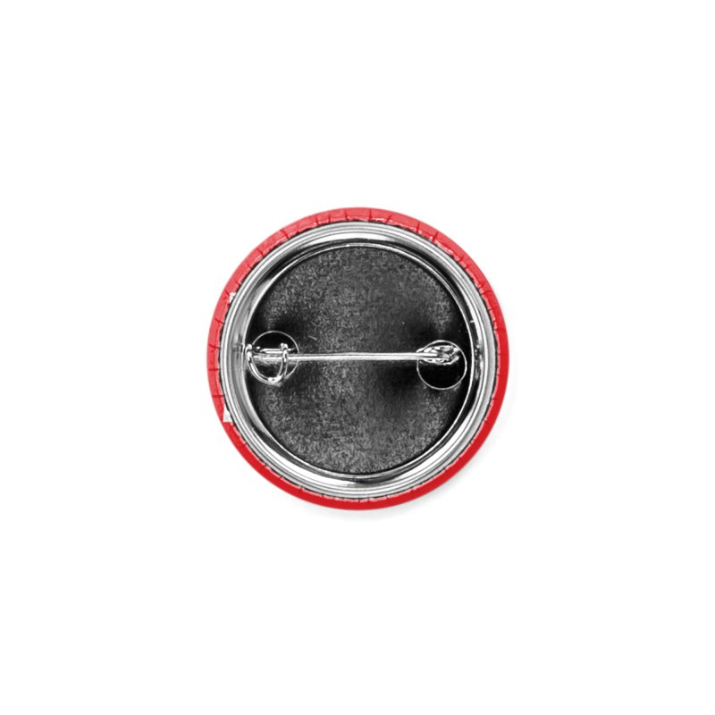 Heavy Metal White Logo Accessories Button by Heavy Metal Magazine