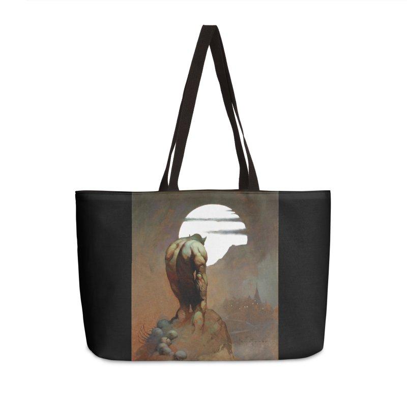 NIGHTSTALKER Accessories Weekender Bag Bag by Heavy Metal Magazine