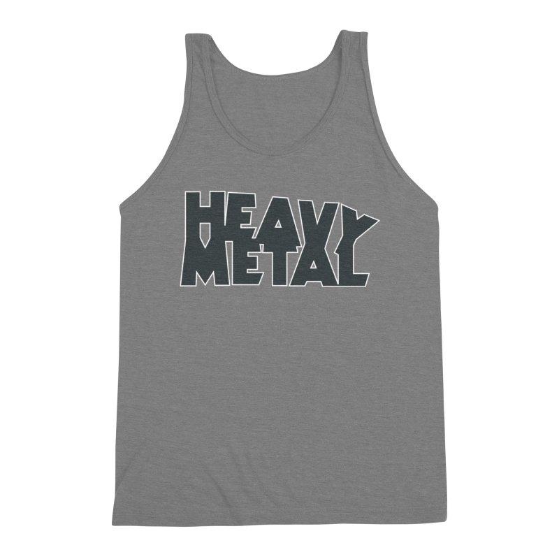 Heavy Metal Black Logo Men's Tank by Heavy Metal Magazine