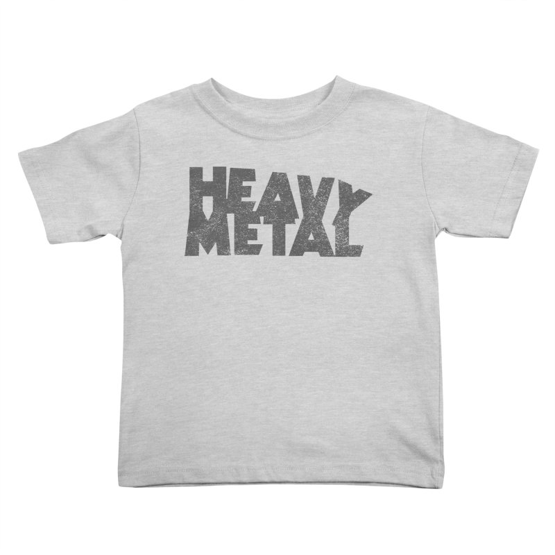Heavy Metal Distressed Kids Toddler T-Shirt by Heavy Metal Magazine