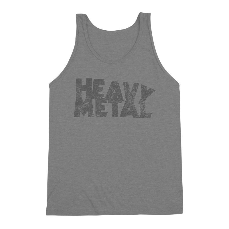 Heavy Metal Distressed Men's Tank by Heavy Metal Magazine