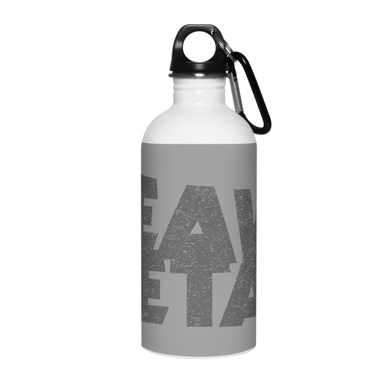 Heavy Metal Distressed Accessories Water Bottle by Heavy Metal Magazine