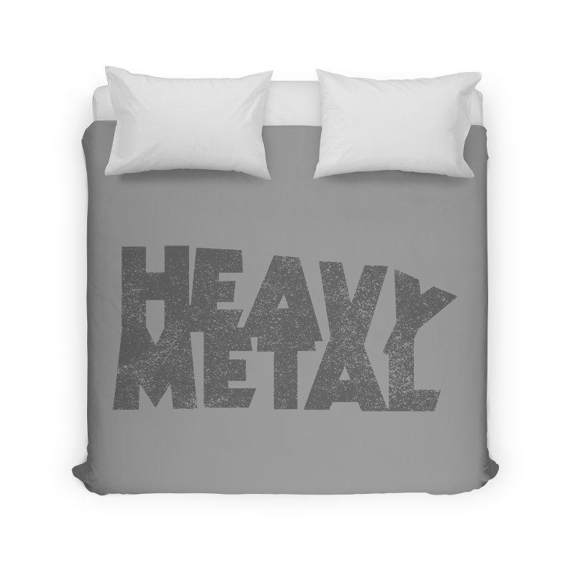 Heavy Metal Distressed Home Duvet by Heavy Metal Magazine