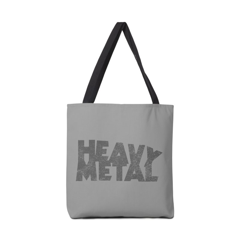 Heavy Metal Distressed Accessories Tote Bag Bag by Heavy Metal Magazine
