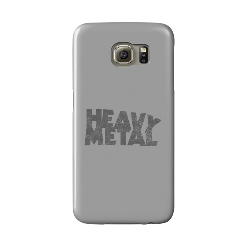 Heavy Metal Distressed Accessories Phone Case by Heavy Metal Magazine