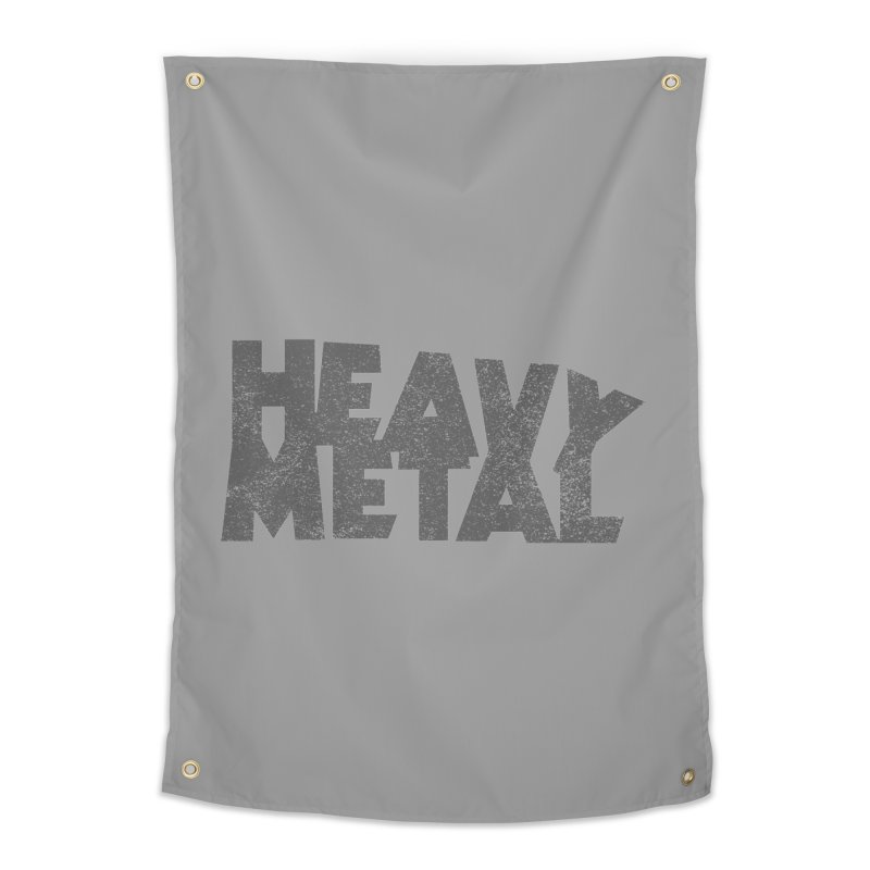 Heavy Metal Distressed Home Tapestry by Heavy Metal Magazine