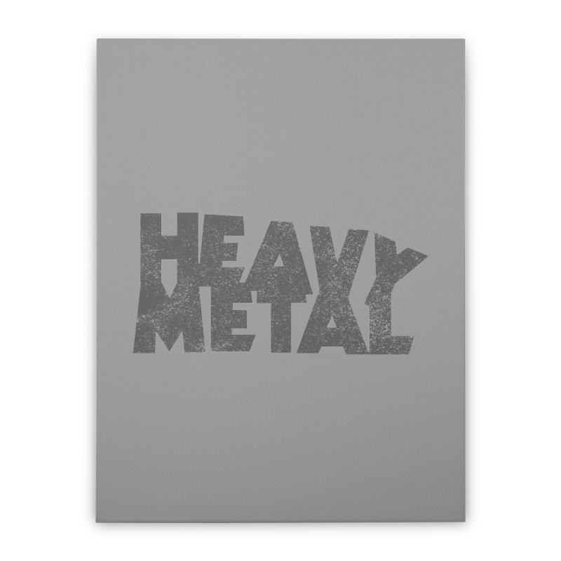 Heavy Metal Distressed Home Stretched Canvas by Heavy Metal Magazine