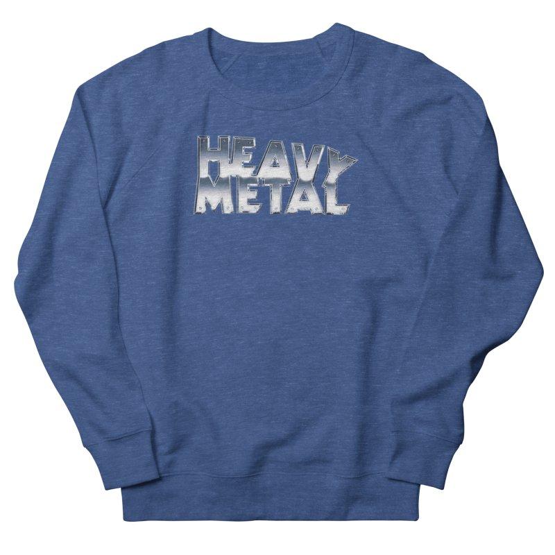 Heavy Metal Chrome Logo v2 Women's Sweatshirt by Heavy Metal Magazine