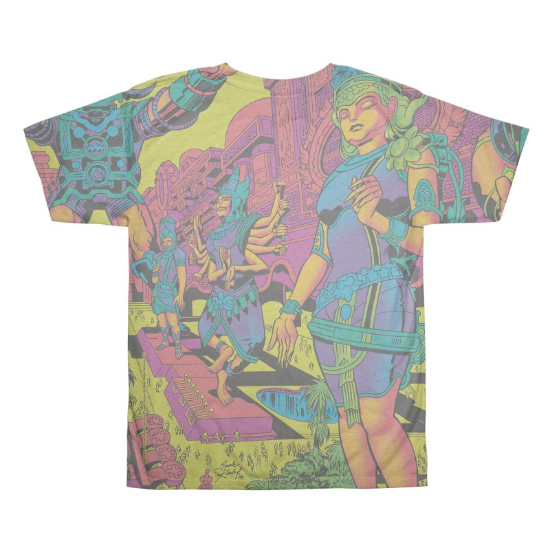 Brahmas Pavilions of Joy - Jack Kirby and Barry Geller Men's All Over Print by Heavy Metal Magazine