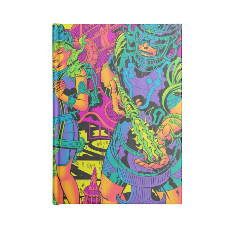 Brahmas Pavilions of Joy - Jack Kirby and Barry Geller Accessories Notebook by Heavy Metal Magazine