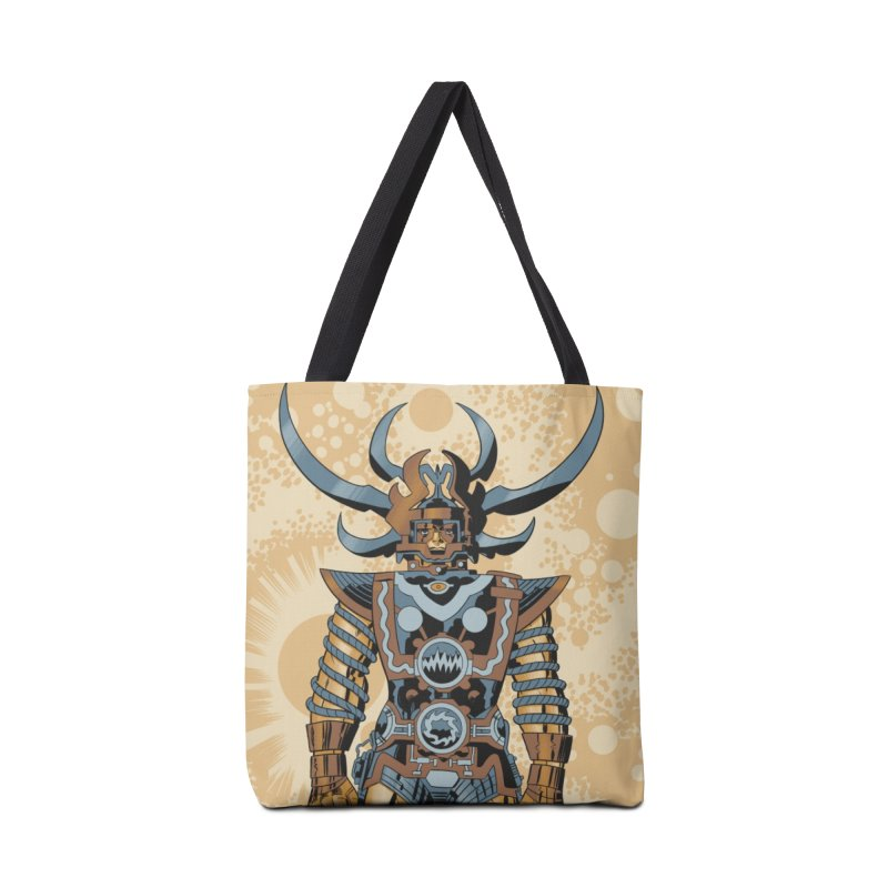 Sam Metallic - Jack Kirby and Barry Geller Accessories Tote Bag Bag by Heavy Metal Magazine