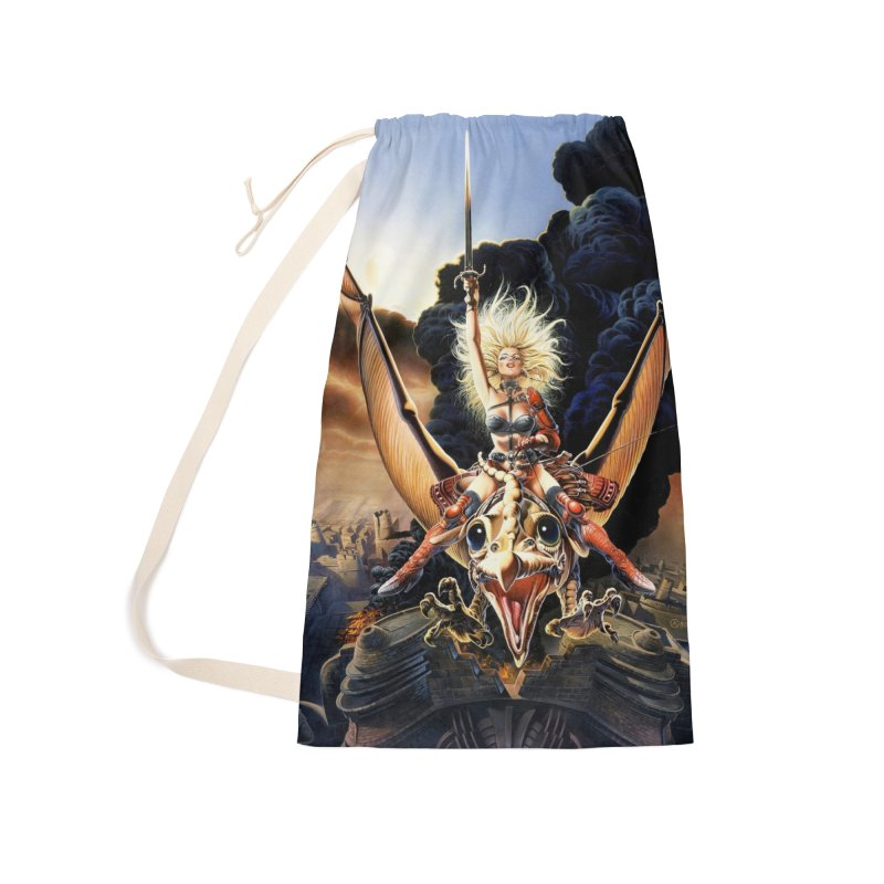 Taarna - Chris Achilleos Accessories Laundry Bag Bag by Heavy Metal Magazine