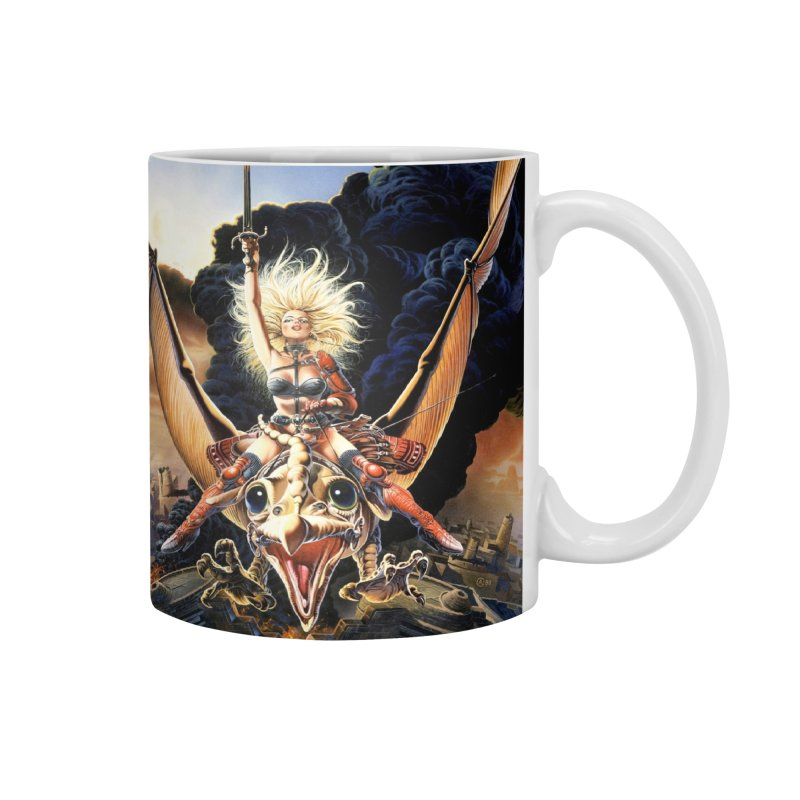 Taarna - Chris Achilleos Accessories Mug by Heavy Metal Magazine