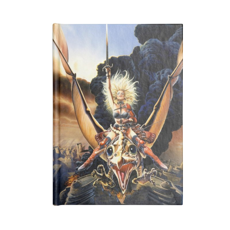 Taarna - Chris Achilleos Accessories Lined Journal Notebook by Heavy Metal Magazine