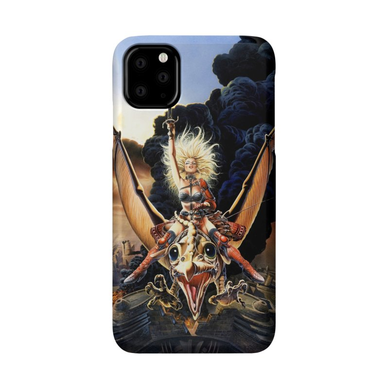 Taarna - Chris Achilleos Accessories Phone Case by Heavy Metal Magazine