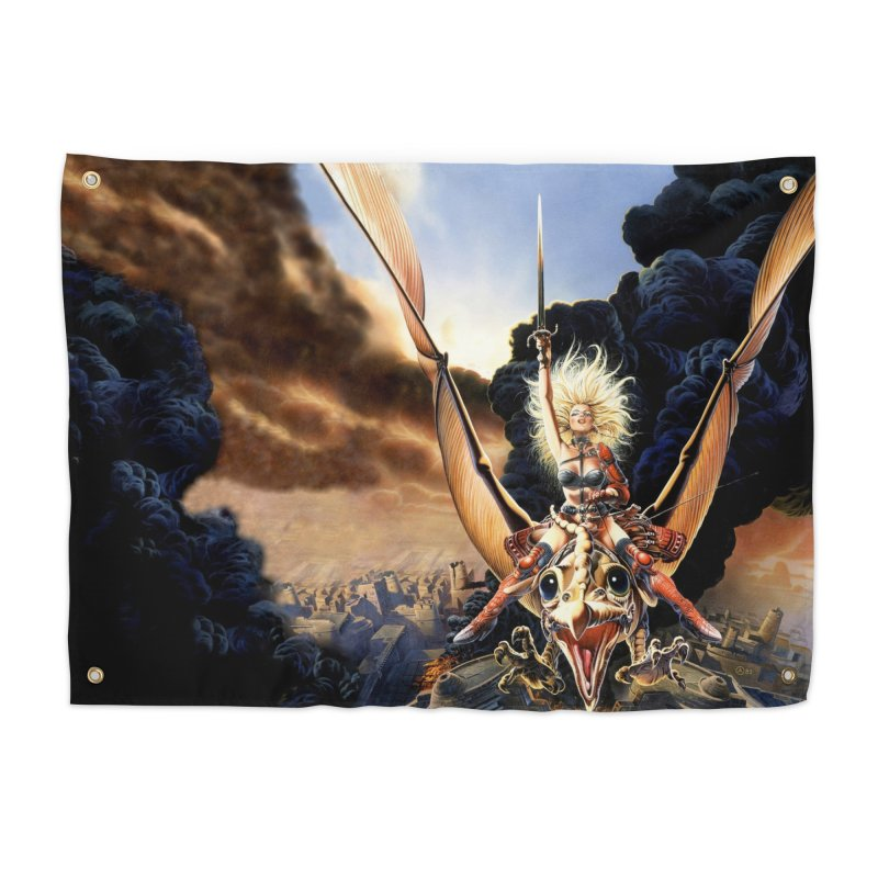 Taarna - Chris Achilleos Home Tapestry by Heavy Metal Magazine