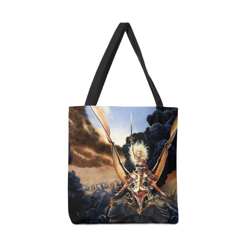 Taarna - Chris Achilleos Accessories Tote Bag Bag by Heavy Metal Magazine