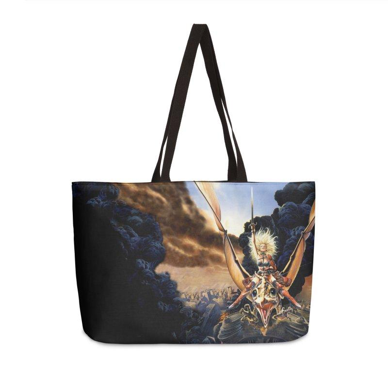 Taarna - Chris Achilleos Accessories Weekender Bag Bag by Heavy Metal Magazine