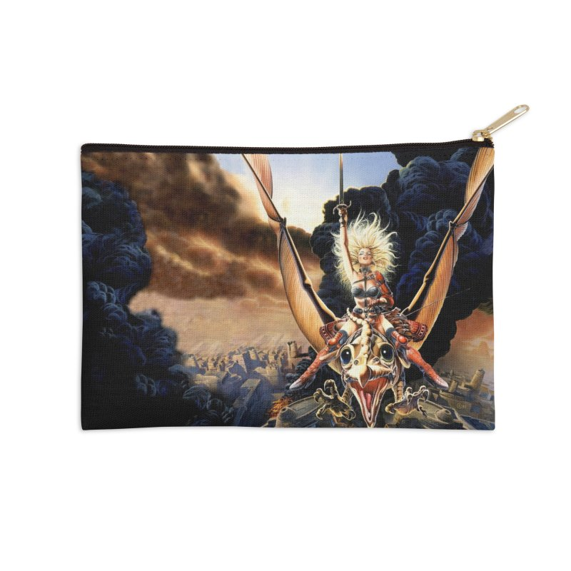 Taarna - Chris Achilleos Accessories Zip Pouch by Heavy Metal Magazine