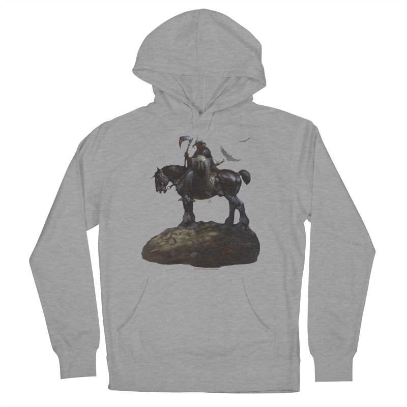 Death Dealer Men's French Terry Pullover Hoody by Heavy Metal Magazine