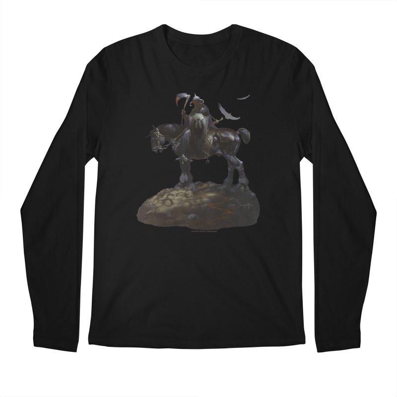 Death Dealer Men's Regular Longsleeve T-Shirt by Heavy Metal Magazine