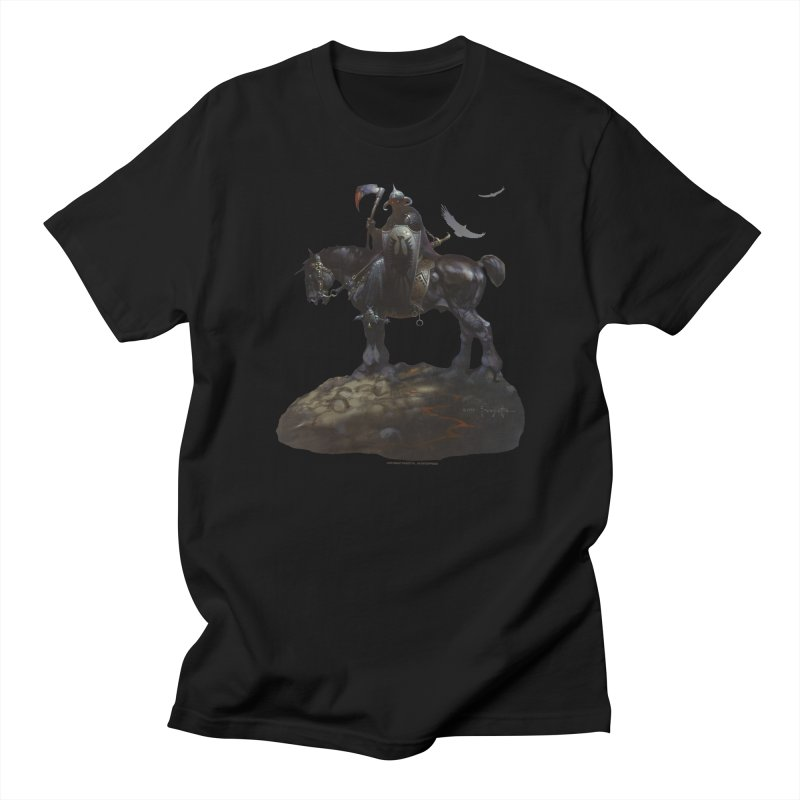 Death Dealer Men's Regular T-Shirt by Heavy Metal Magazine
