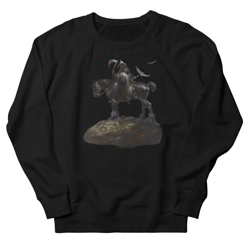 Death Dealer Men's French Terry Sweatshirt by Heavy Metal Magazine
