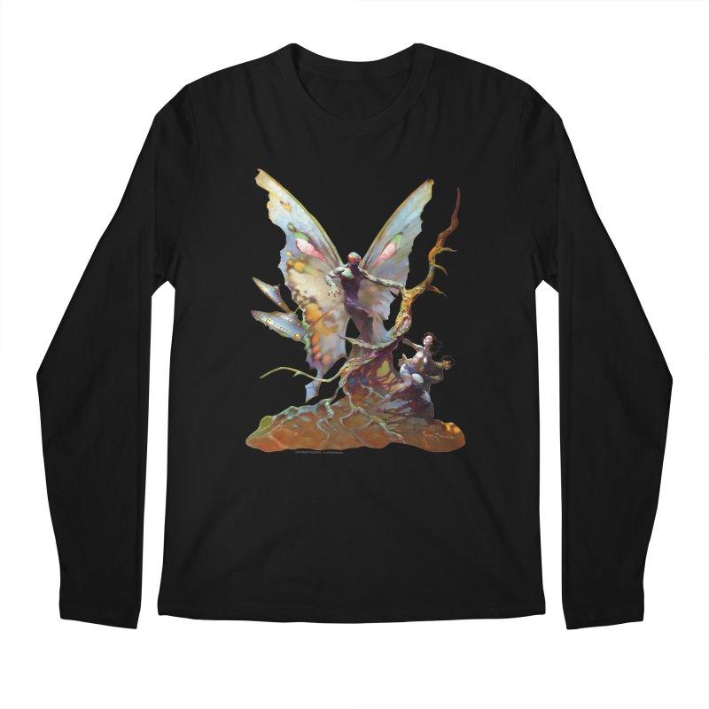 Mothman Men's Regular Longsleeve T-Shirt by Heavy Metal Magazine
