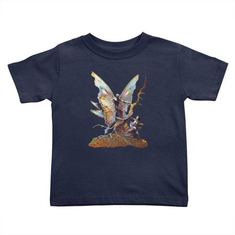 Mothman Kids Toddler T-Shirt by Heavy Metal Magazine